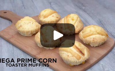 Quick & Simple Corn Toaster Muffin Recipe