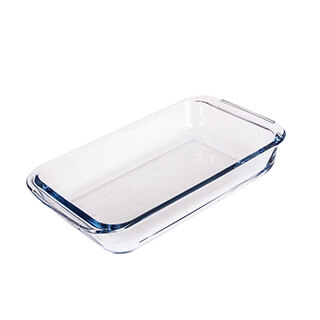 FE-16L Rectangular Glass Bakeware