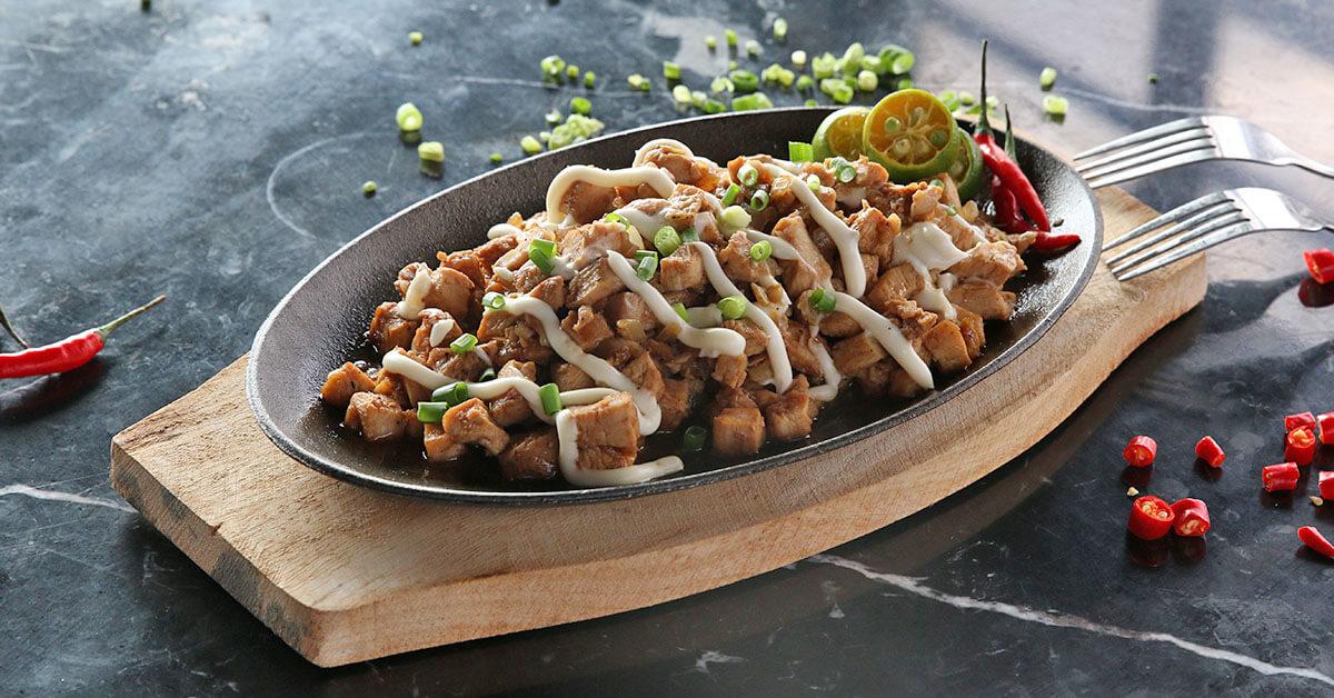Spicy Chicken Sisig