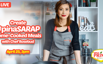 FB Live: Cooking Demo by Chef Rosebud