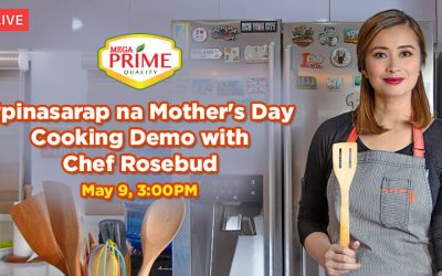 FB Live: Mother's Day Cooking Demo with Chef Rosebud