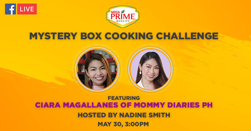 FB Live: Mystery Box Cooking Challenge