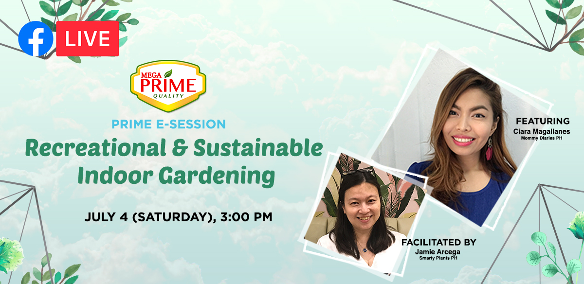 Prime E-Session- Recreational & Sustainable Gardening