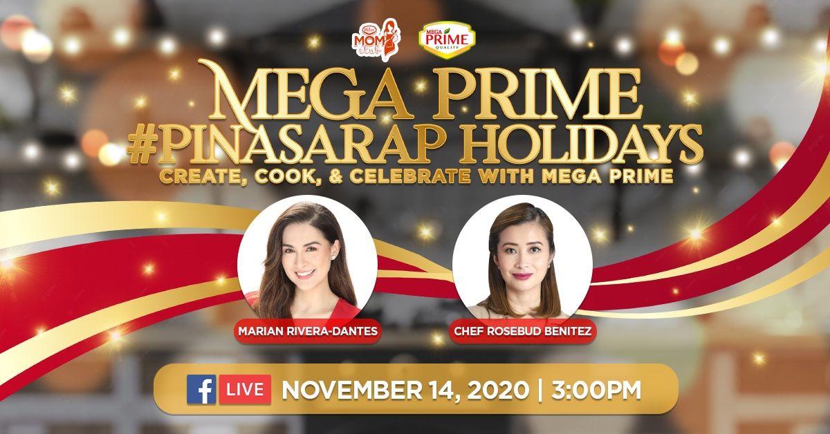 Mega Prime #PinaSARAP Holidays