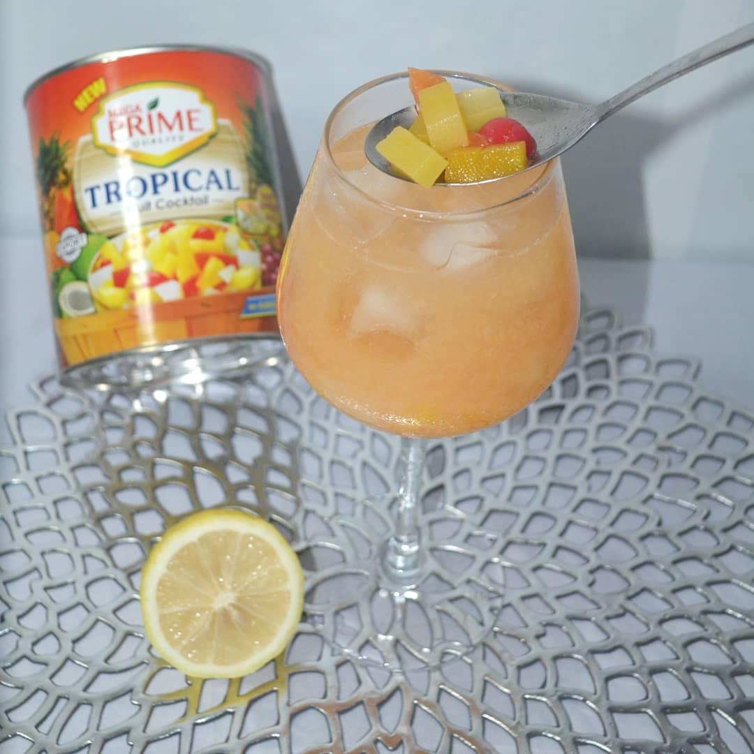 Fruity Cinderella inspired by Chef Rosebud