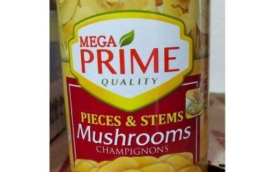 MEGA PRIME PIECES AND STEMS MUSHROOMS