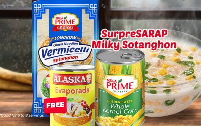 SurpreSARAP Milky Sotanghon Recipe