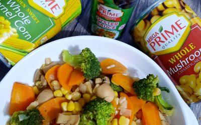 #EasySarapDishChallenge Buttered Mixed Vegetables