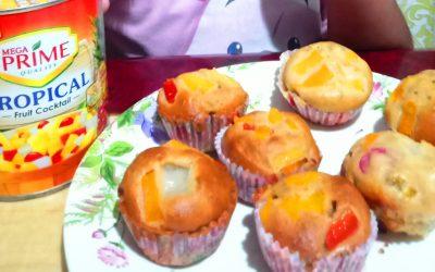 Mega Prime Fruit Muffins #EasySarapDishChallenge